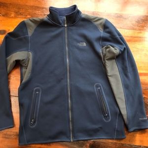 North Face jacket Mens M Blue/Grey